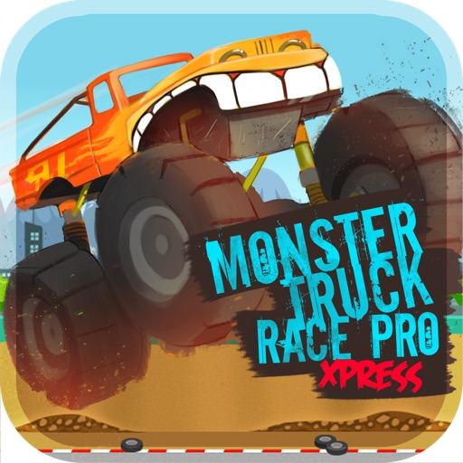 Monster Truck Race Pro - Xpress Lite icon