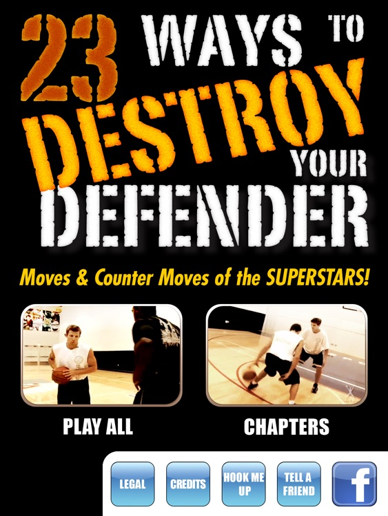 23 Ways To Destroy Your Defender: Scoring Moves and Counter - Moves Of The Superstars - With Coach Ganon Baker - Full Court Basketball Training Instruction - XL