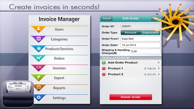 Easy Invoice Manager Lite