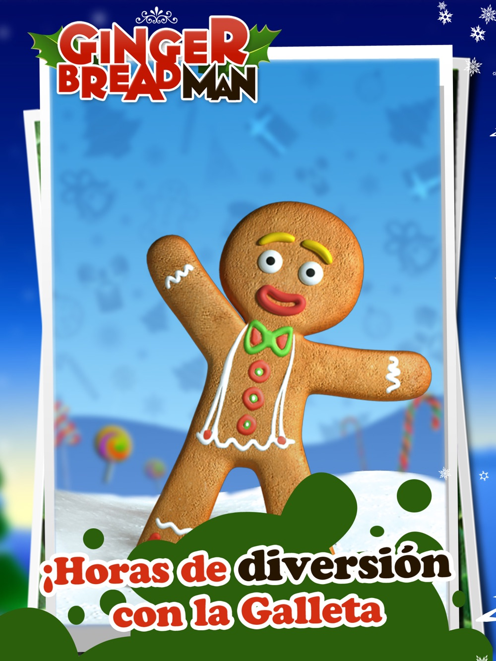 Talking Gingerbread Man HD Cheat Codes