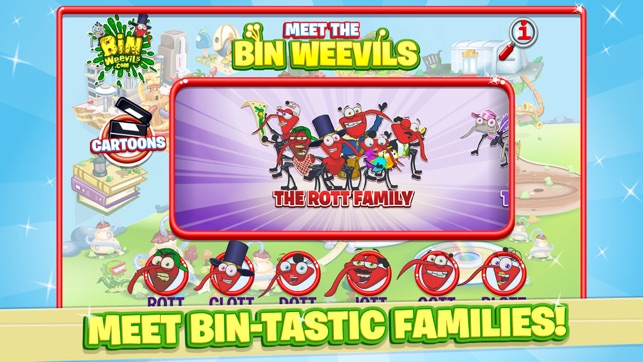 meet the bin weevils