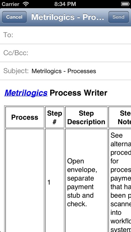 Process Writer screenshot-4