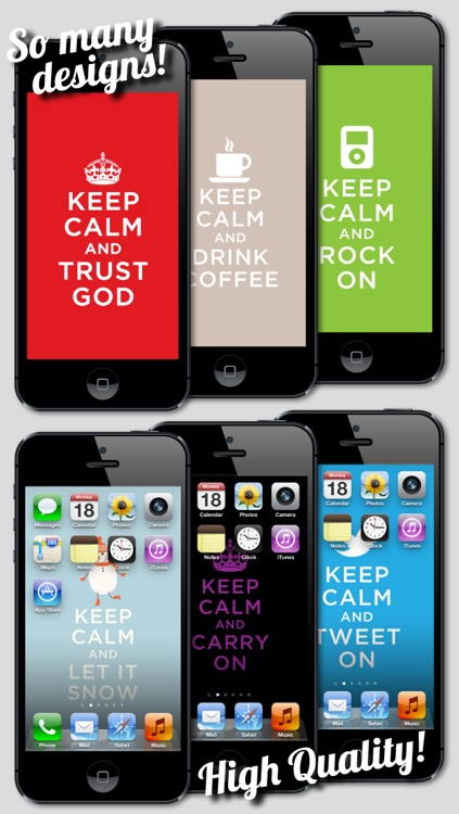 Keep Calm and Carry On Wallpapers, Themes & Backgrounds screenshot-4