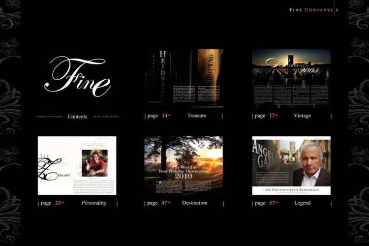 FINE The Wine Magazine screenshot-3