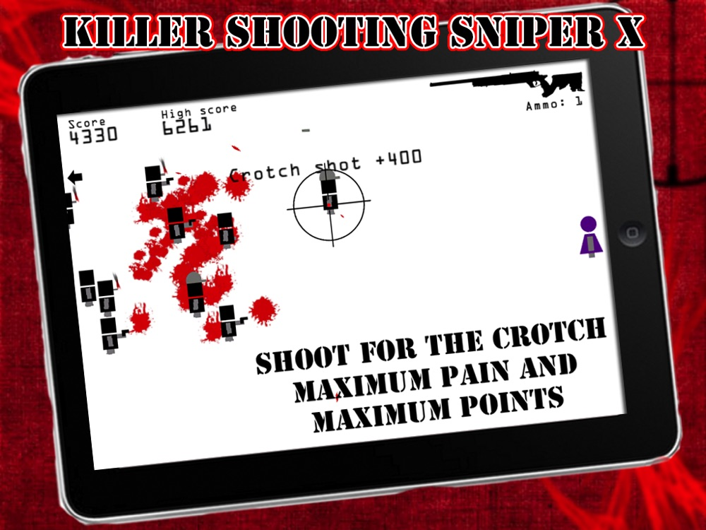 Killer Shooting Sniper X – HD game version Cheat Codes
