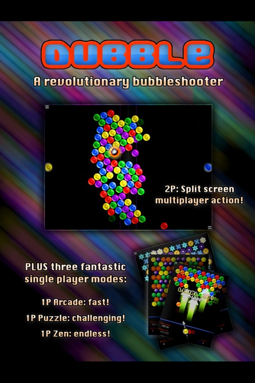Dubble Bubble Shooter HD screenshot-4