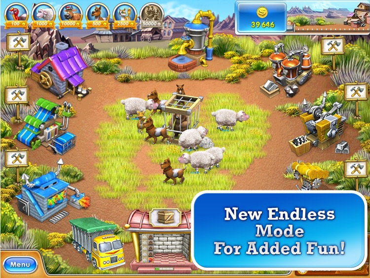 Farm Frenzy 3 – American Pie HD (Free) screenshot-4