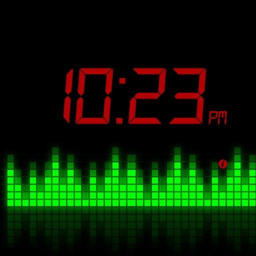 Sound Control Night Light With Clock