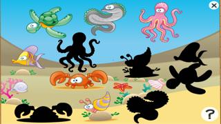 Screenshot of Gioco per bambini di età 2-5 sugli animali dell'oceano: giochi e puzzle per la scuola materna, scuola materna o asilo nido con il mare, l'acqua, i pesci, tartarughe, anguille e granchi4