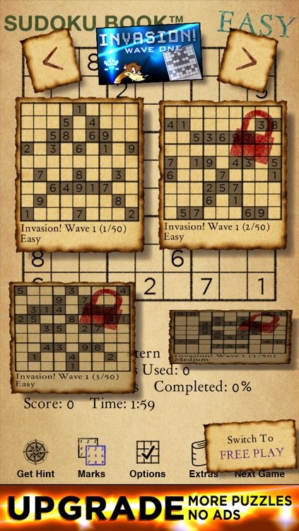 Big Bad Sudoku Book Free screenshot-4