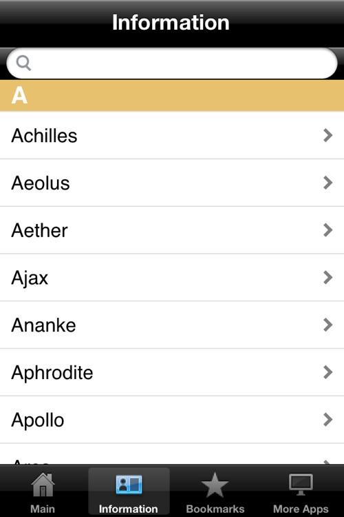 Greek Gods & Mythology Pocket Reference screenshot-3