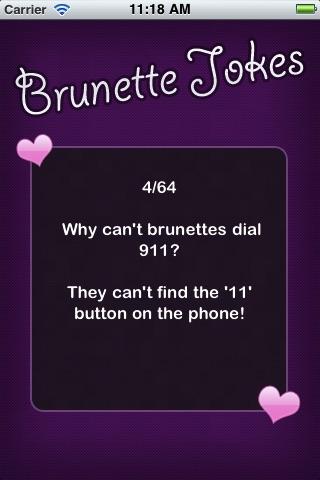 Brunette Jokes (FREE)