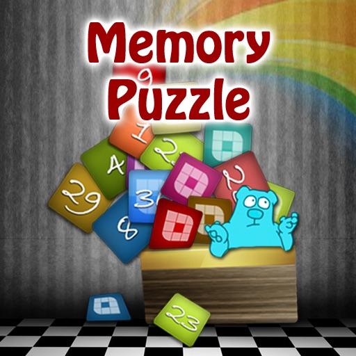 Memory Puzzle HD - Mind Focus Sharpener-Best 3-in-1 Brain Teasers Fun Games
