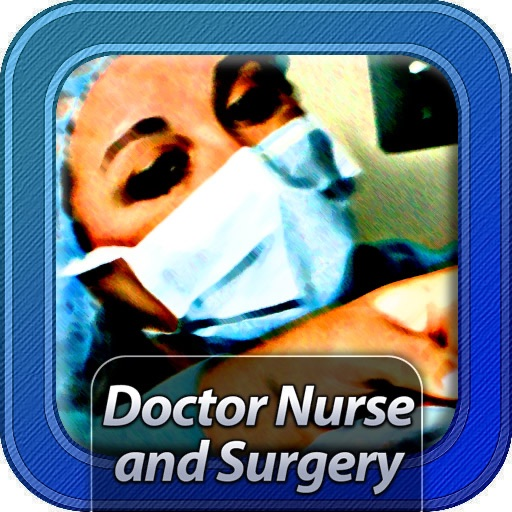 Doctor Nurse and Surgery icon