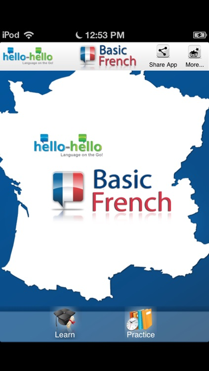 """Learn French - Vocabulary (Hello-Hello) """"for iPhone"""""""