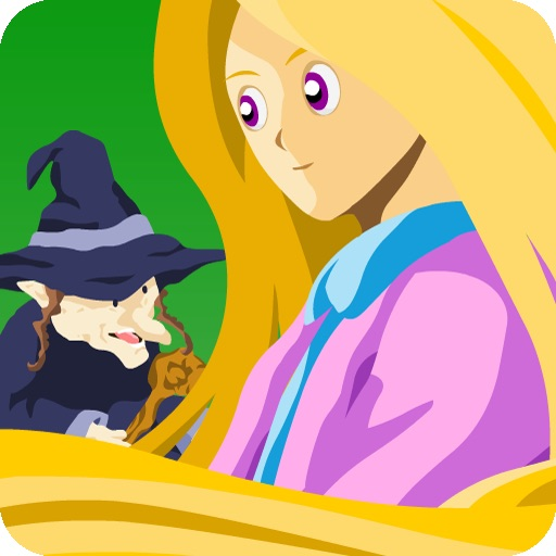 Rapunzel for iPad (Kids Story Book) icon