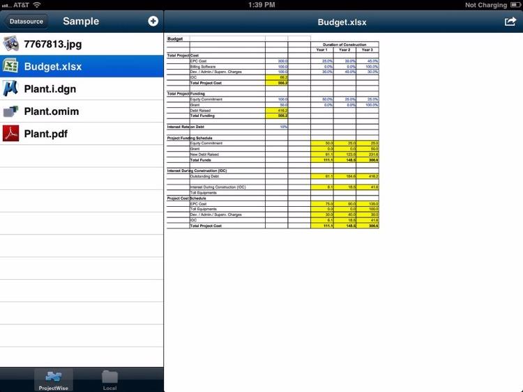 ProjectWise Explorer Mobile screenshot-3