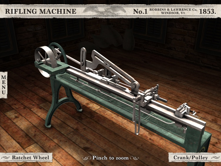 Civil War Rifling Machine (1853) App