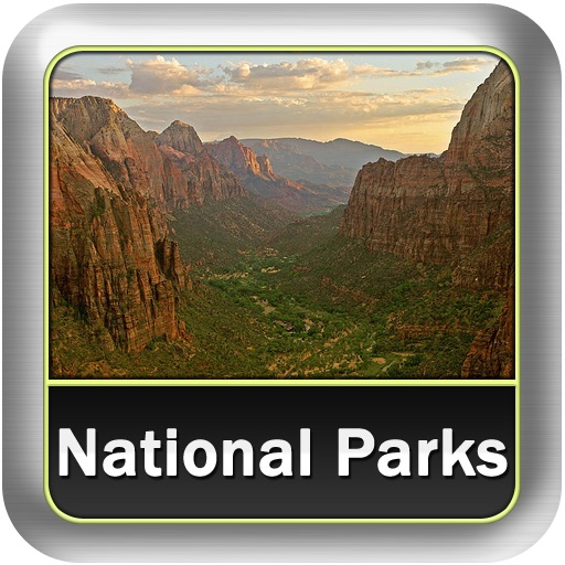 100 Beautiful National Parks of the World icon