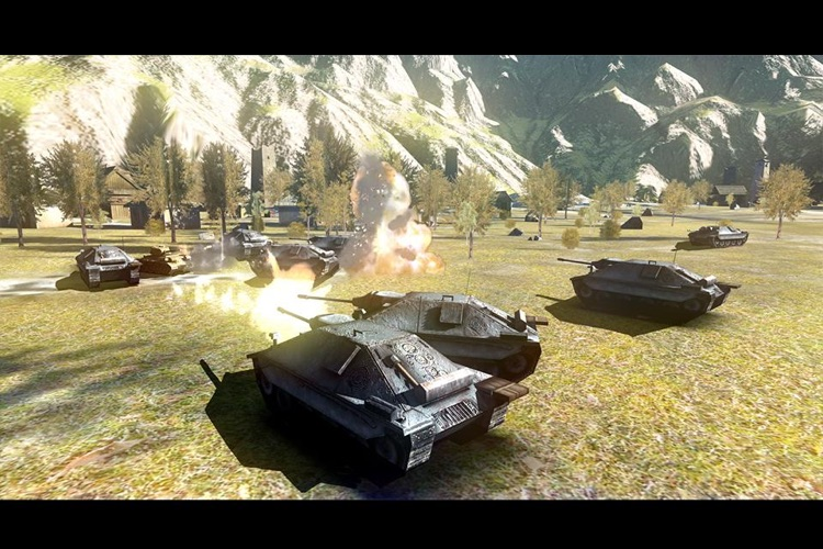 Battlefield Tank screenshot-1