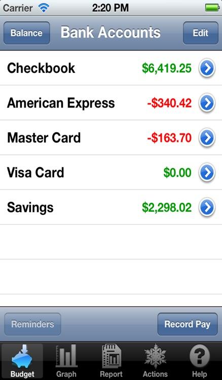 Budget Touch screenshot-3