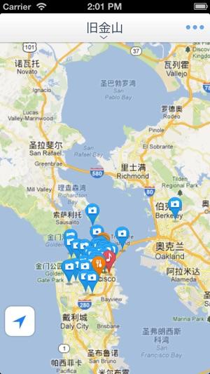 San Francisco Offline Mapoffline map subway map GPS tourist