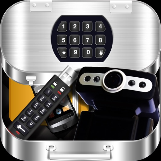 Secret Toolbox - Spy Camera Photos Videos Recorder, Hide & Password Lock Pictures Movies Album Folder, Private Text Message Encryption