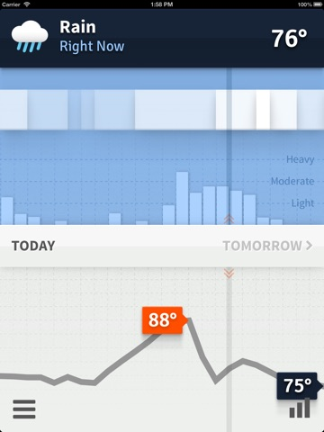 Weathertron — Live Rain, Snow, Clouds & Temperatures Screenshot