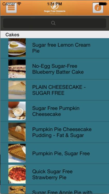 Sugar Free Desserts Recipes screenshot-4