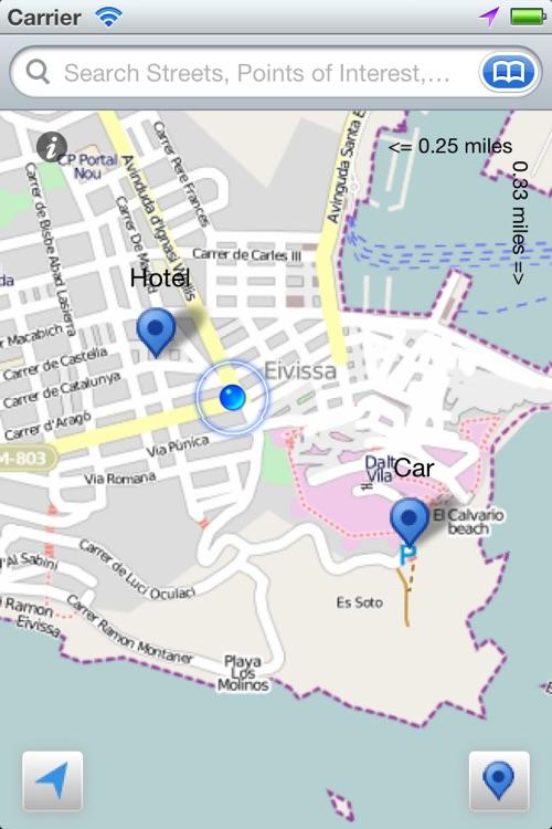 Ibiza the Offline Map