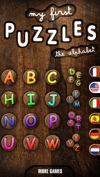 My First Puzzles: Alphabet - A Free Educational Puzzle Game for Kids and Toddlers for Learning Letter Shapes - Kid Toddler App