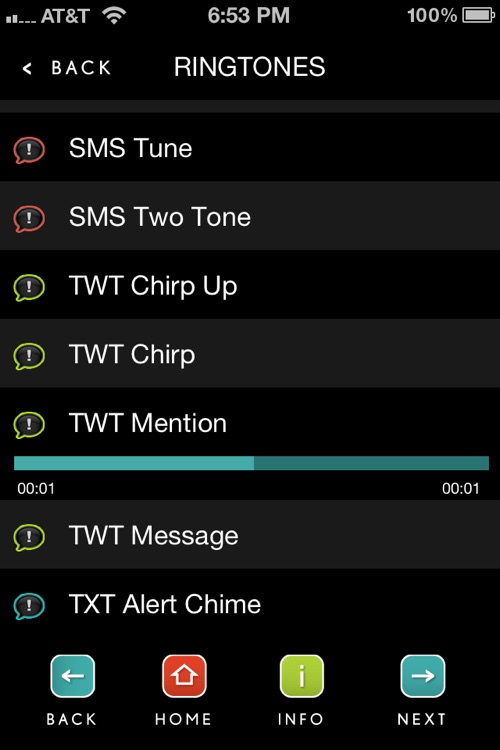 Text Tones & Alerts screenshot-2