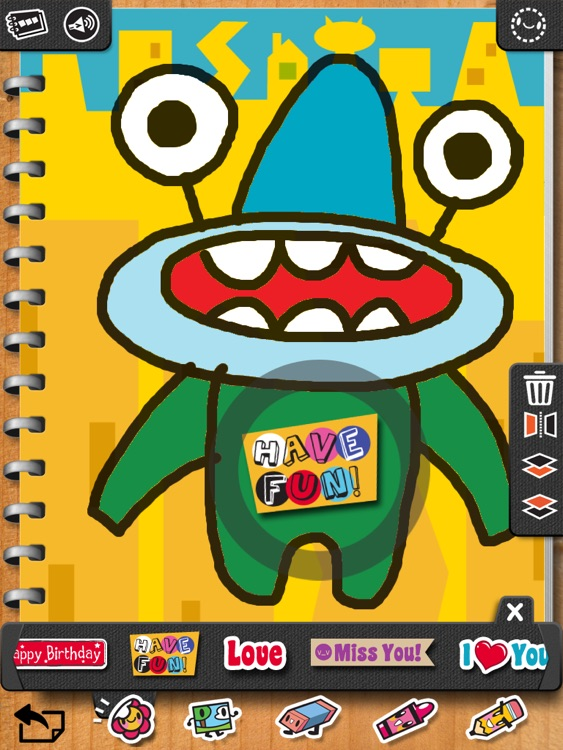 iLuv Drawing Monsters HD - Learn how to draw 20 cute monsters step by step!