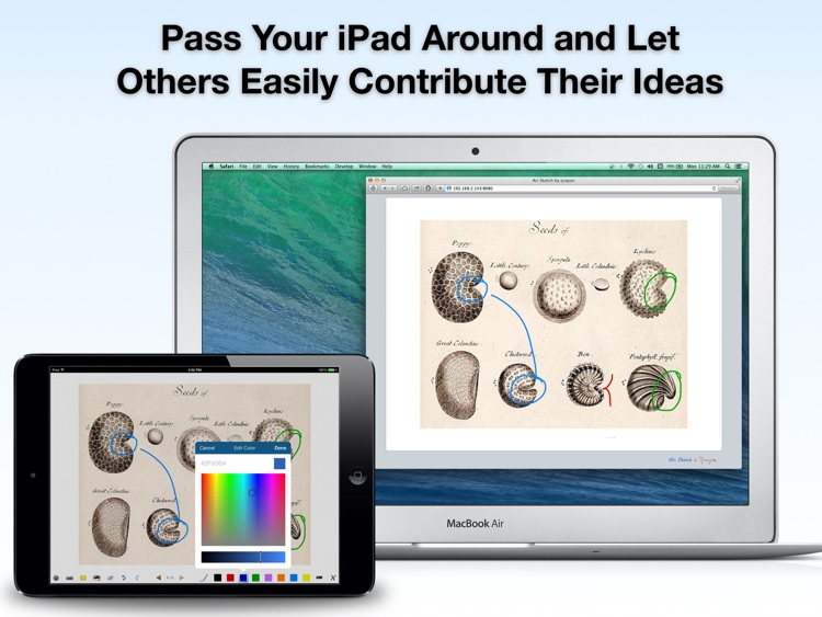 Air Sketch: Interactive Whiteboard and Wireless Presentations screenshot-3