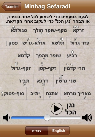Taamim - טעמים Screenshot 2