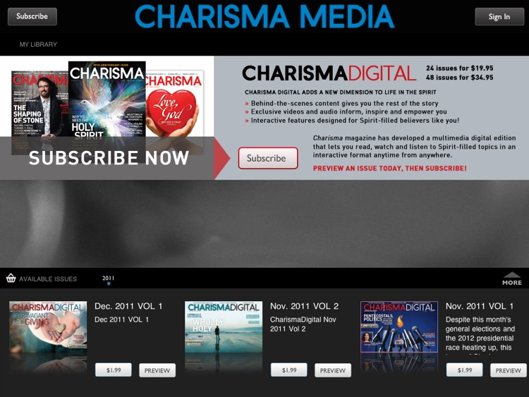 Charisma Media Magazine screenshot-1