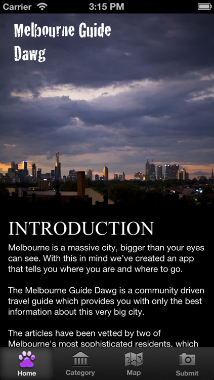 Melbourne Guide Dawg