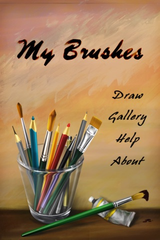 MyBrushes for iPhone - Painting, Drawing, Scribble, Sketch, Doodle with 100 brushes Screenshot