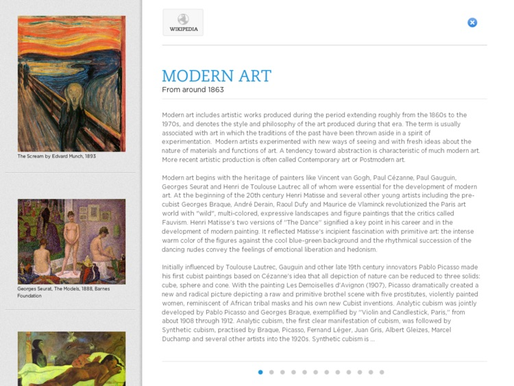 Kronopedia - Visual Arts premium screenshot-3