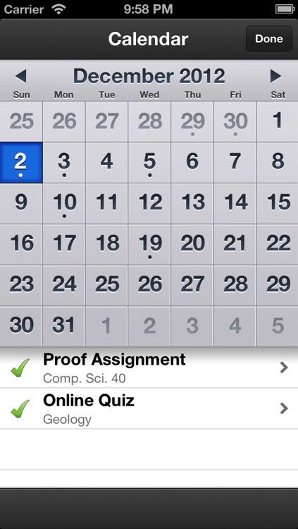 My Grades & Homework screenshot-3