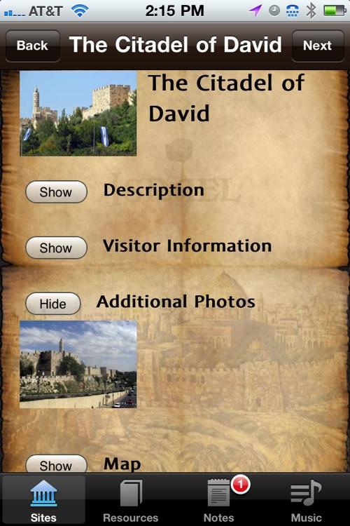Israel Sites