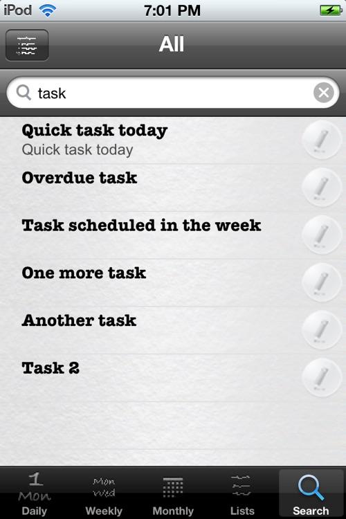 Daily Tasks (To Dos) screenshot-4
