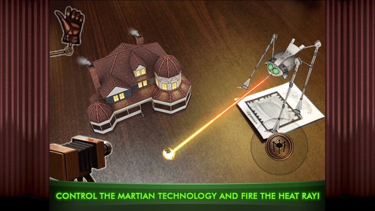 The War of The Worlds: Augmented Reality