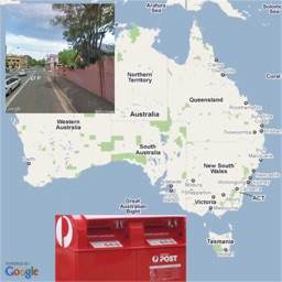 AU Australian Postcode Locations and Street View Images