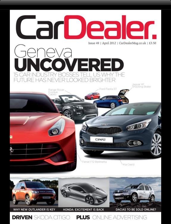 Car Dealer Magazine for iPad