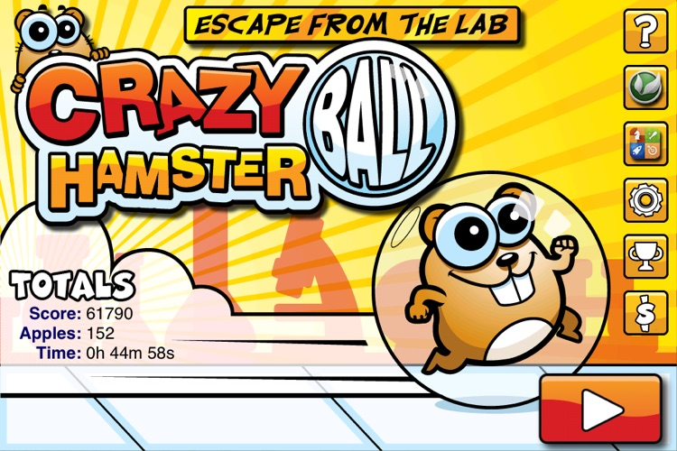 Crazy Hamster Ball