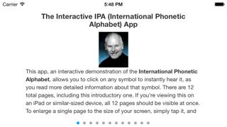 Interactive IPA screenshot one