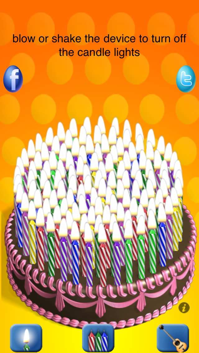 Candle Cake iPhone
