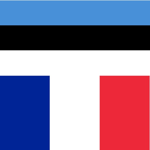 Estonian - French - Estonian dictionary