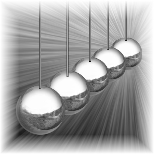 Newtons Balls Lite: Kinetic Physics Newtons Cradle Simulator